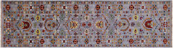 2and039 9 X 9and039 10 Runner Traditional Handmade Wool Rug - Q8394
