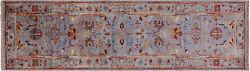 Runner Handmade Traditional Wool Rug 2and039 9 X 9and039 8 - Q8392