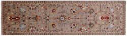 2and039 8 X 9and039 7 Runner Traditional Hand Knotted Wool Rug - Q8377