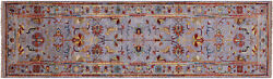 2and039 9 X 9and039 9 Handmade Traditional Wool Runner Rug - Q8374