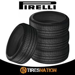 4 New Pirelli Pzero 255/35r20 97y Summer Sports Performance Traction Tires