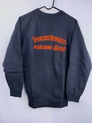 Vintage Champion Knitwear Syracuse University Marching Band Pullover Nwot Rare