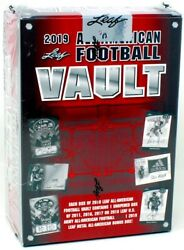 2019 Leaf All American Football Vault 12 Box Case Blowout Cards