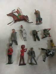 Assorted Britains Lead Soldier Lot With Indians, Guards