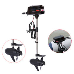 Electric Outboard Motor Fishing Boats Trolling Engine Brushless Motor 60v 2200w