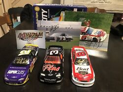 Hasbro Dale Earnhardt 1997 3 Gm Goodwrench Plus Autographed Chevy 1/24 Cwc.