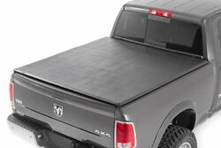 Rough Country Soft Tri-fold Fits 2009-2018 Ram Truck   6.4 Ft Bed   No Rambox