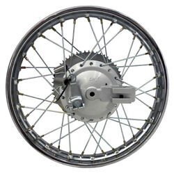 For Suzuki 03-up Drz 125 16 Complete Rear Rim Wheel Assembly Brakes And Sprocket