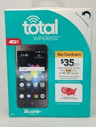 Total Wireless Blade T2 Lite 4glte New In The Box