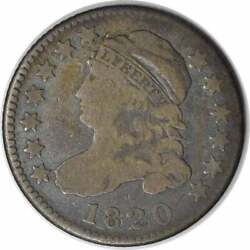 1820 Bust Silver Dime Statesof Vg Uncertified