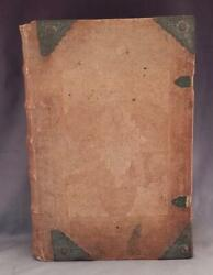 Antique C1720 Large Leather German Biblekuhn Family Bibleforward By M.luther