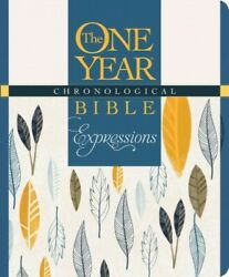 One Year Chronological Bible Expressions New Living Translations, Devotiona...