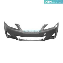 New Front Bumper Cover Primed Fits 2011-2013 Lexus Is250 Lx1000212c Capa