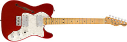 Fender Vintera And03970s Telecasterandreg Thinline Maple Fingerboard Candy Apple Red -m