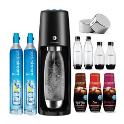 Sodastream Fizzi One Touch Sparkling Water Maker And Extra Carbonator Bundle