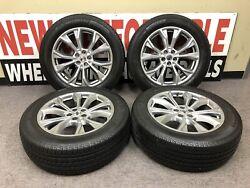 2021 Ford Explorer 20andrdquo Silver Factory Oem Wheels Rims Tires 10268 Package Deal