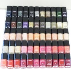 New Lot Of 55 Le Vernis Nail Colour Nail Polish Lacquer Assorted 13 Ml/12