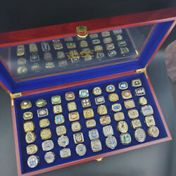 New Collection 54pcs Nfl Championship Rings All Size Available 7-14