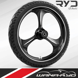 Ryd Wheels Amp Starkline 26 Front Wheel Tire Package 13 Rotor 00-07 Bagger