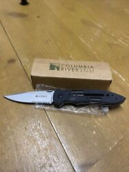 Discontinued Crkt Point Guard 6763g Folding Knife Crawford Design