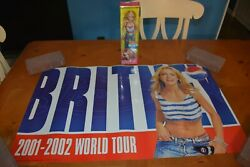 Hot And Sexy Britney Spears Pepsi Outfit Doll Stars Blue Jean Baby + Free Poster