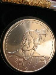 1-oz Rare Choctaw Native American Tribal Indian Coin Sterling Silver.925 +gold