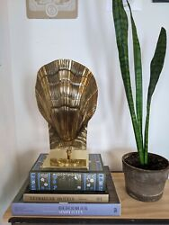 Brass Scallop Clam Shell Table Lamp - Chapman