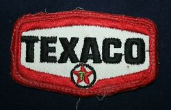 Vintage Texaco Patch Removed From Gas Station Attendants Cap Or Uniform