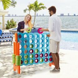 Jumbo 4 In A Row 4 To Score Giant Game Set With High Durability And Safety New