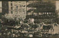 Rppc Large Float At Portola Festival Oct. 21,1909 Located At 7th And Market. Odd