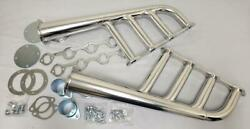 Sbf Small Block Ford Ceramic Coated Lake Style Lakester Headers Rat Rod 289 302