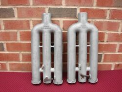 Vintage Nos Perry's Exhaust Muffler Cut Out Ford Flat Head Street Rod Custom