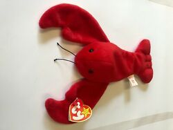 1993 Pinchers Ty Beanie Baby W Chocolate Name On Hang Tag