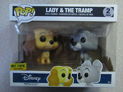 Funko Pop Disney Lady And The Tramp 2-pack