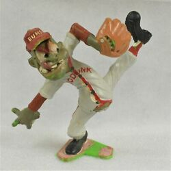 Louis Marx figure Nutty Mad Podunk Bums Bull Pen 5.5 Preowned