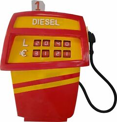 Red And Yellow Cartoon Gas Pump Prop Life Size Statue