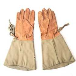 Ww2 Former Japanese Army Made In 1943 Jp Army Summer Aviation Gloves Fs M5046