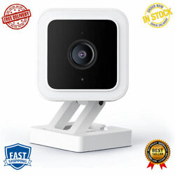 Night Vision Hd Indoor Outdoor Video Camera Two Way Audio Works White Color New