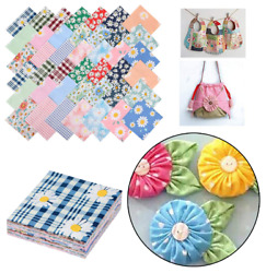 Precut Cotton Fabric Charm Pack 42-5 Squares Quilt Quilting Sewing Daisy Floral