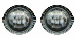 One Pair Of Hella Front Fog Lamps To Fit Hymer B Motorhomes From 2003 To 2006
