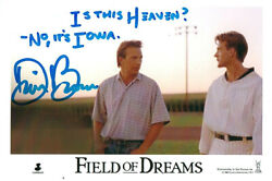 Dwier Brown Real Hand Signed Field Of Dreams Movie Photo 2 Coa W/ Inscription