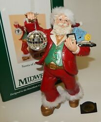 Santa Of The 1970s Midwest Of Cannon Falls Christmas Santa Claus Disco Figure