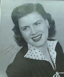 8 X 10 Glossy Photo Signed By Patsy Cline Country Singer