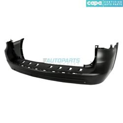 New Rear Bumper Cover Fits 2011-2016 Chrysler Town And Country Ch1100957c Capa