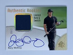 2014 Sp Aunthetic Rory Mcilroy Aunthetic Rookies Rpa 06/25