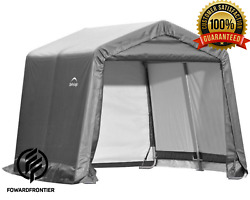 Shed Steel Storage In A Box Metal Fit All Season Roof Outdoor Cover Replacement