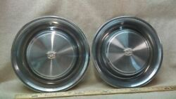 Vintage Wheel Cover Hubcap Pair Hubcaps Fits 73 Cadillac B2-14/169585