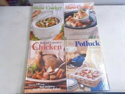 4 BEST OF COUNTRY SLOW COOKER POTLUCK CHICKEN HARDCOVER