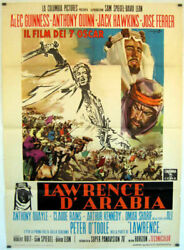 Lawrence Of Arabia / Peter O'toole / 1962 / David Lean / Movie Poster/64