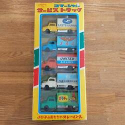 Commercial Service Track Playing Toy Wind Box Series Showa Retro Tin Unused